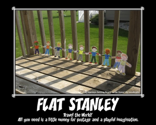 Flat Stanley Poster